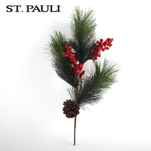 wholesale alibaba pine needle decorative artificial tree branches for christmas