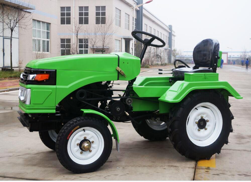 15hp Electric Start Multi Purpose Farm Mini Tractor Plow