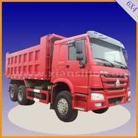 cheap howo 6x4 RHD/LHD tipper truck with good quality