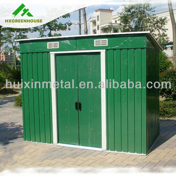 2017 Garden ShedMetal Storage Shed With Flat Roof Or Gable Roof