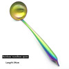 Rainbow-roundness spoon