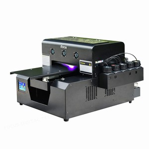 Super mini 3d flatbed printing machine A4 led UV digital printer for cellphone case id card