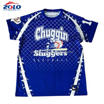 ccab2626c Cheap Custom Full Dye Sublimation Men's Softball Sportswear Softball Jersey,  USA Softball Shirts