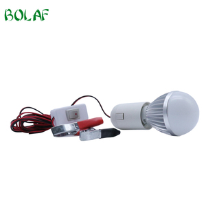 5W Led Light Portable Aluminum House Low Voltage 5W Led Bulb With Cable