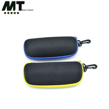 Fashion Eyeglass Zipper Bags;soft reading glasses case