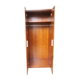Cheap wholesale durable simple modern solid wood hotel white wardrobe