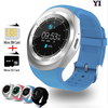 2017 fashion cheap price we de Y1 V1 waterproof bluetooth SmartWatch Touch Screen Micro SIM Card sport men or men's watches
