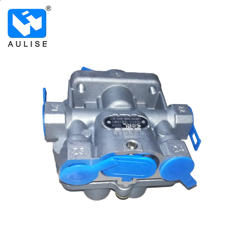 Truck brake system foton Auman Protection valve four way Four-circuit 1417035600053