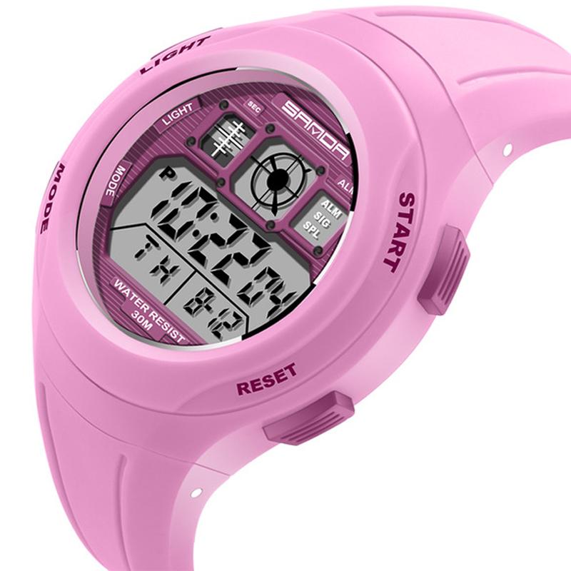 Lovely Children Watches Cartoon Animal Silicone Digital Wristwatch For Kids Boys Girls Quartz Wrist Watchescasualgirls Kidsclock Luxuriant In Design Children's Watches
