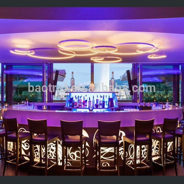 Commercial Bar Counter Luxury Modern Design Bar Furniture