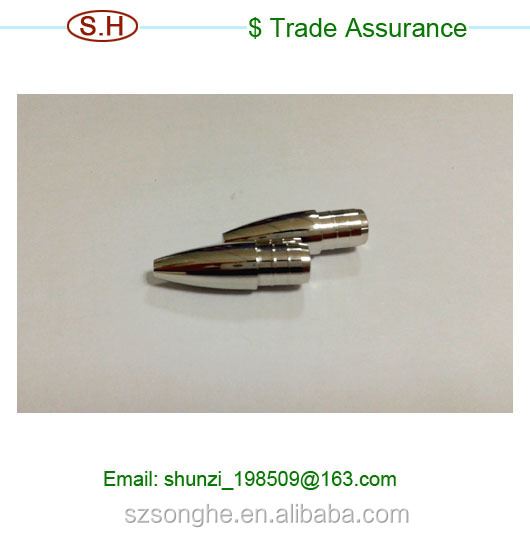 Polishing Stainless steel Pen CNC machining parts made in Dongguan