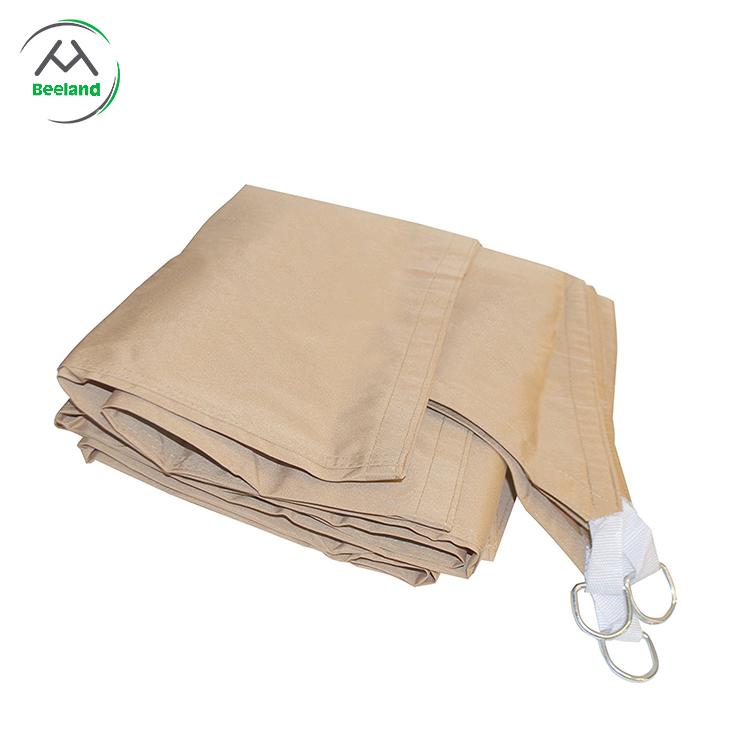 Portable folding uv protection sun sail shade