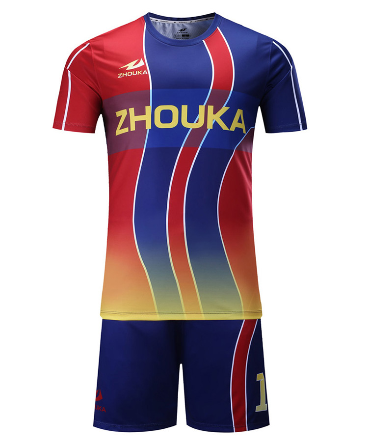 huge selection of 918f1 820d7 Guangzhou Sublimation Factory Supply Unique Football Jerseys Customized  Football Kit With Stripes Soccer Team Jersey - Buy Soccer Team  Jersey,Unique ...