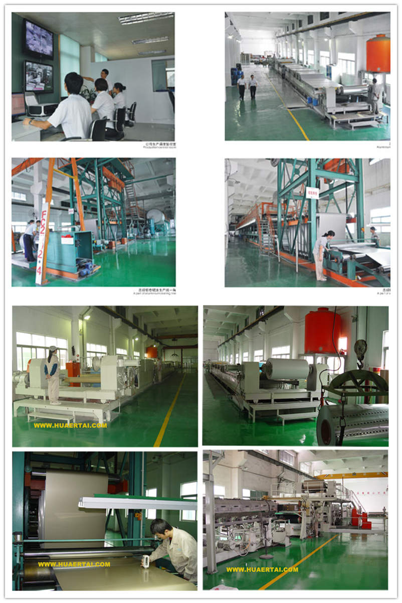 Various color brush acp, aluminum composite panels with high strength