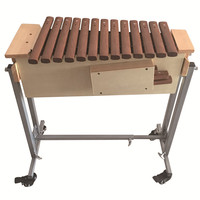 16-Keys wood xylophone with Mallets and X-Stand