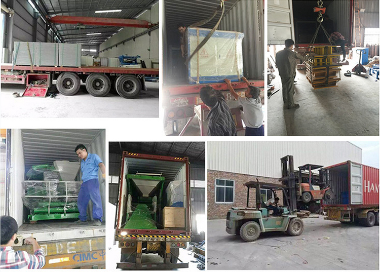 QT6-15 fully automatic cement block making machine