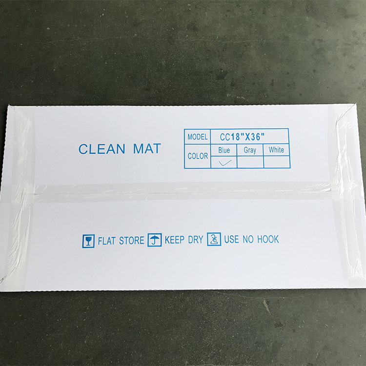 30layers 18x36 Gray Ldpe Peel Off Anti Microbial Hospital