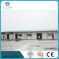 wind proof steel prefabricated houses prefabricated houses spain made in China