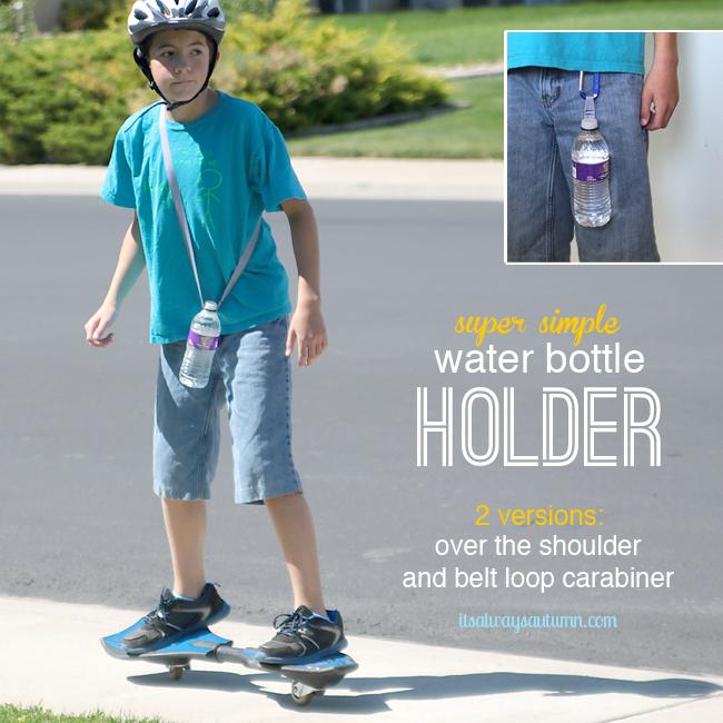 Carabiner Water Bottle Strap