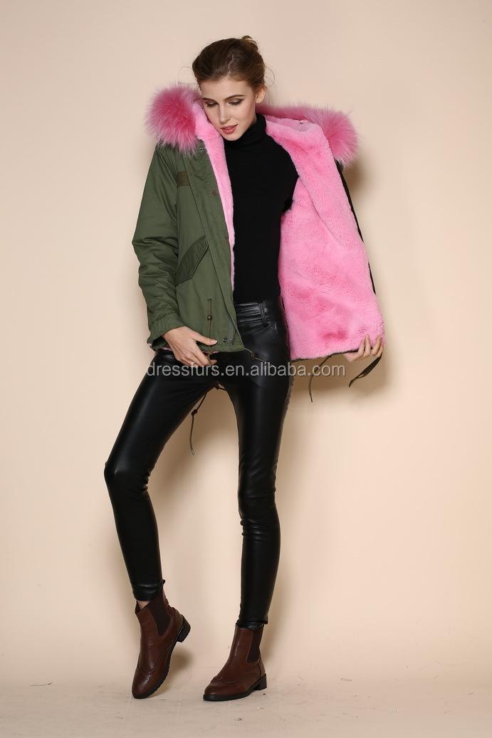 Fur Collar Coat Womens | Down Coat