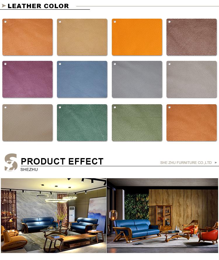 Nice Living Room Furniture Sets: Nice Design Couch Living Room Furniture Genuine Leather