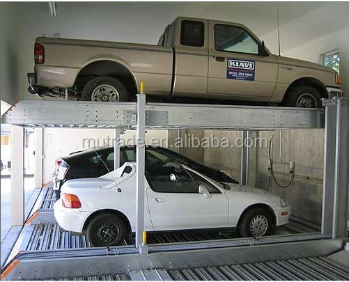 Car lift automated parking garage/car stacking vertical parking system/car stack building