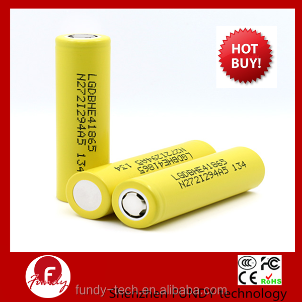 18650 Battery And Charger Supplier! 3.7V 30A 2500mAh LG HE4 18650 Battery 118650 Battery Cell ICR18650