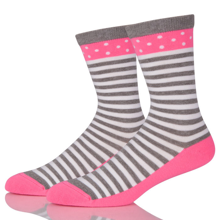 Women's Socks Cotton Stripes Socks Fashion Casual Tide Socks