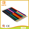 E Seng wooden color pencil set with clear plastic box packed