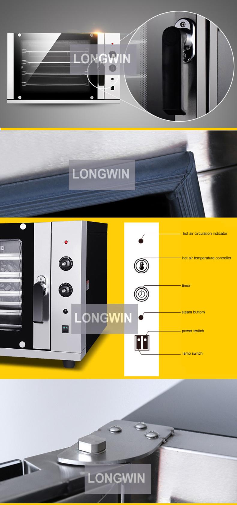 Mini elektrischer Kuchen-Ofen-Konvektions-Ofen, China-Versorgungs-Konvektions-Ofen