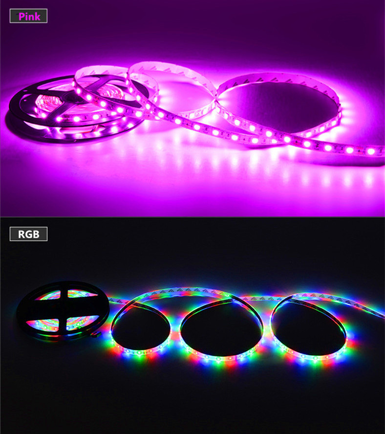 Smart natural white 12v smd led strip waterproof 2835 CE RoHS