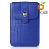 wallet card-slot pu leather cell mobile phone case/ purse phone bag