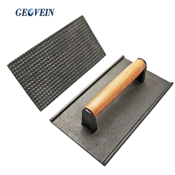 Non-stick Flat Grill Press Cooking Utensils Parts Cast Iron Bacon Press