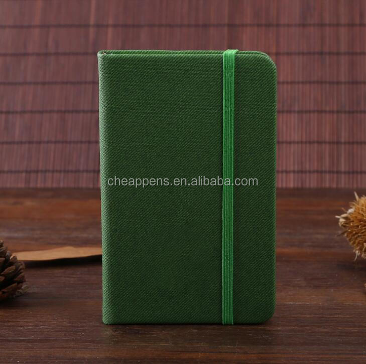 New arrival Fabric Hard Cover notebook with custom logo