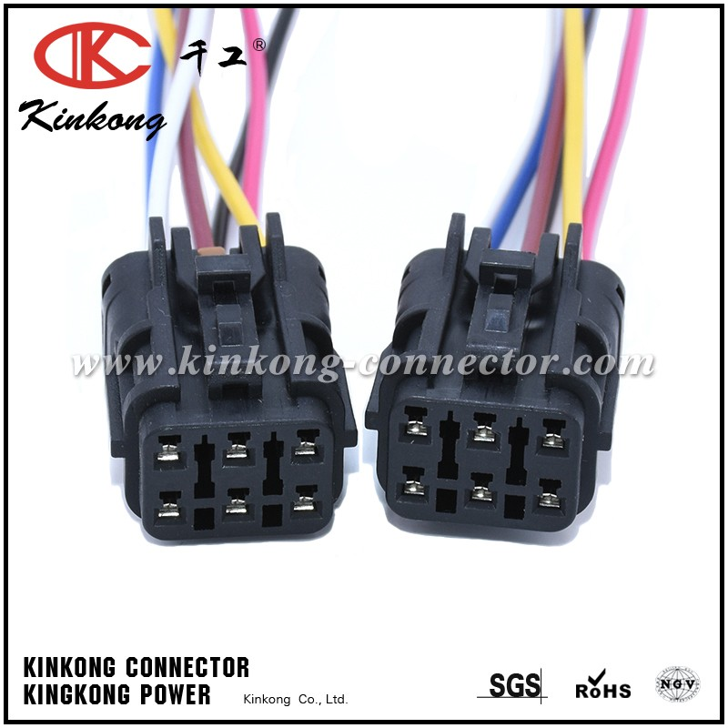 China factory 6 pin connector pigtail for KIA SOUL WA097