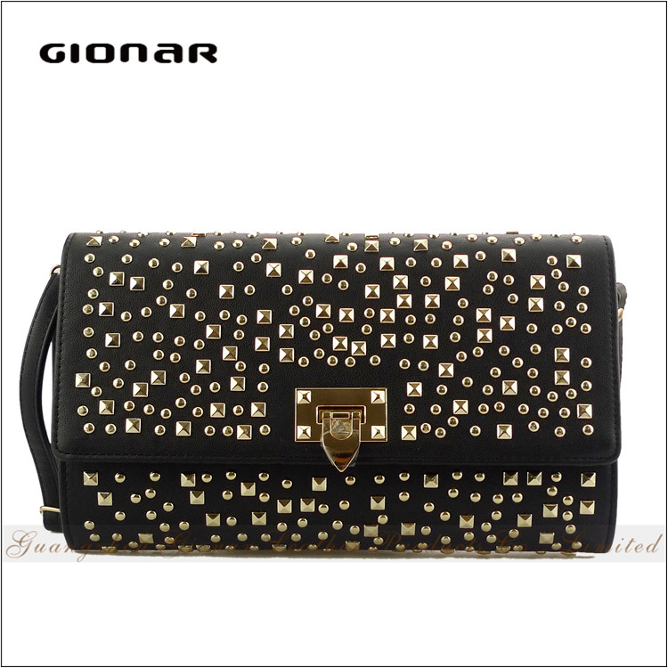 High Quality Low Price Wholesale Crystal Evening Leather Beaded Clutch Bag India