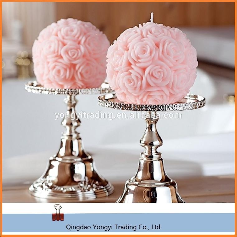 gro handel g nstige rose ball kerzen f r hochzeit. Black Bedroom Furniture Sets. Home Design Ideas