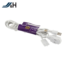 CUL Approval SPT-2 2X18AWG White Flat Bulk 2 Pin Extension Cord