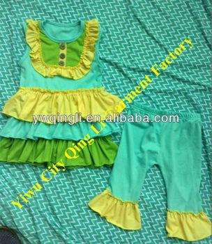 Venta caliente bebé persnickety país ropa niñas de punto de algodón vestido  a juego shorts conjuntos ad2b262d8f7