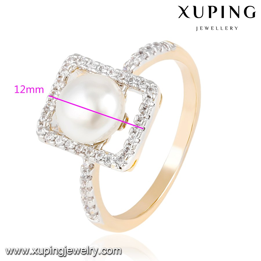 14037 new pearl finger ring jewelry designs for women