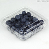 new design marketing blister plastic clear packaging strawberry box