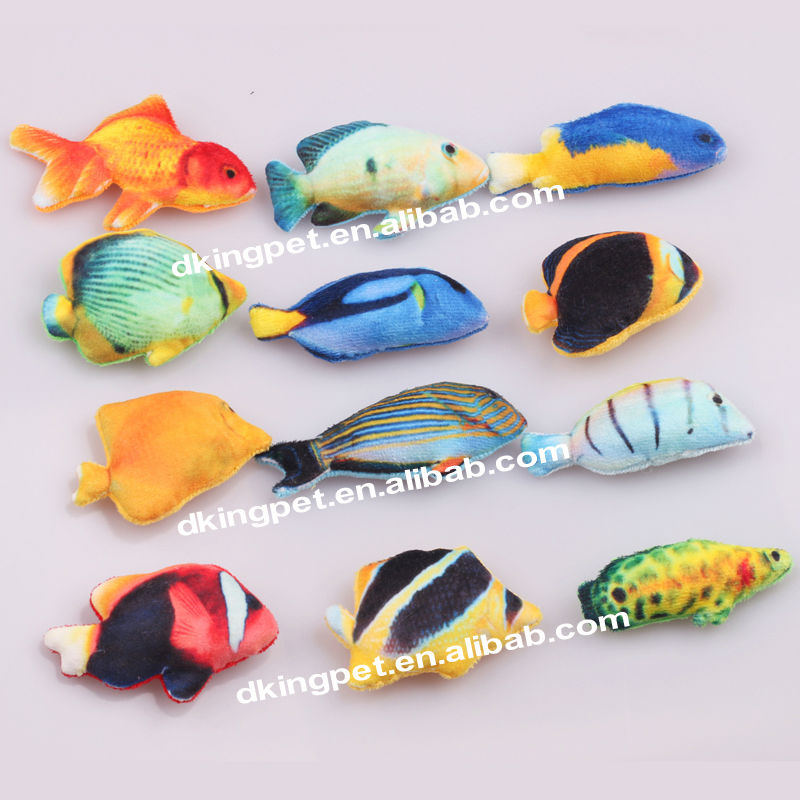 Best price china factory fish toy plush cat toys buy for Fish cat toy