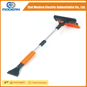"31"" Extendable Snow Brush with ice scraper for car ningbo"