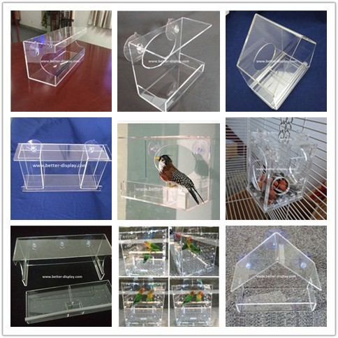 Clear Plastic Acrylic Round Fish Tank Aquarium