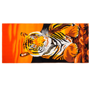 Wholesale Turkish towel fabric Printed Microfiber beach towel