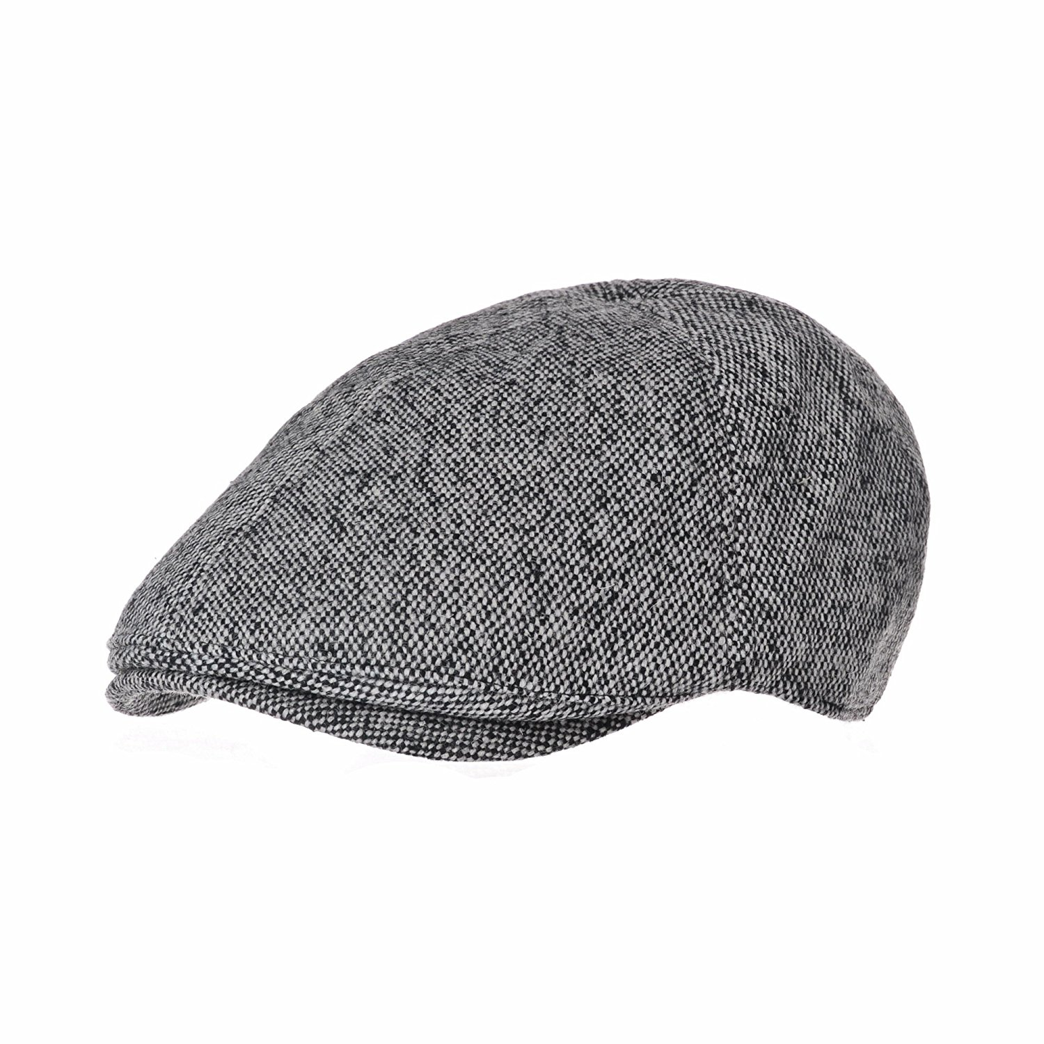 Get Quotations · WITHMOONS Meshed Lattice Pattern Wool Newsboy Hat Flat Cap  SL3127 e06be9a77e67