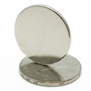 Diameter 22mm x 2mm Strong Force Permanent Round Magnet
