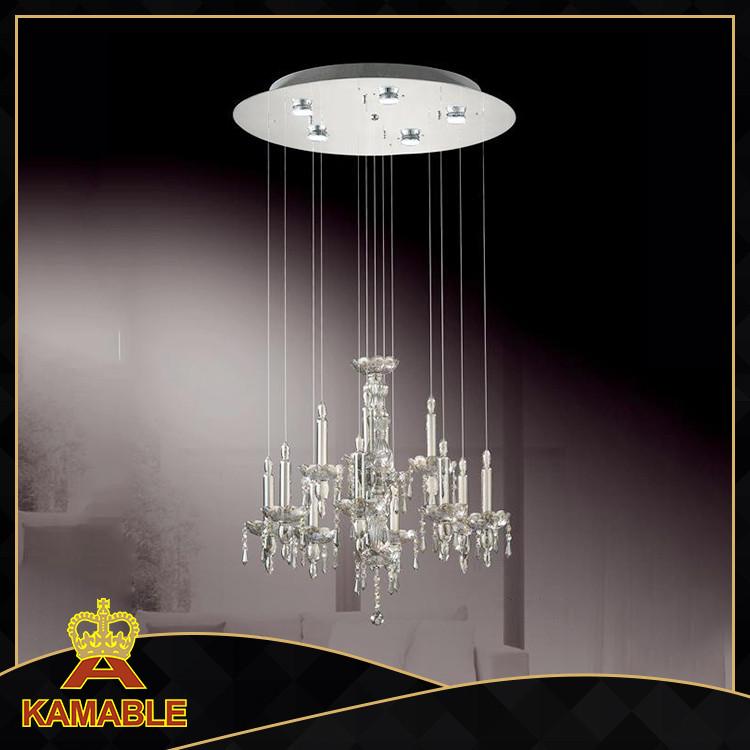Crystal /glass Pendant Light,Crystal Hanging Chandelier Ceiling ...