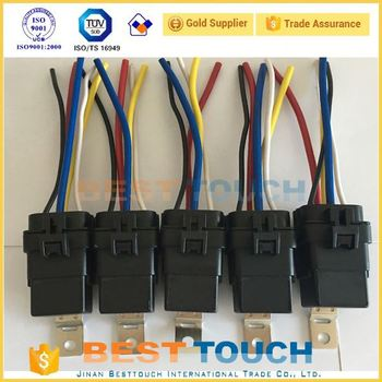 5 Pack Ols 40/30 Amp 40a Automotive Waterproof Relay Switch - Buy  Dc Relay Wiring Internal Pack on