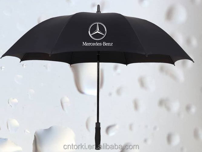 Custom Logo Printing Promotional 8k black golf umbrella